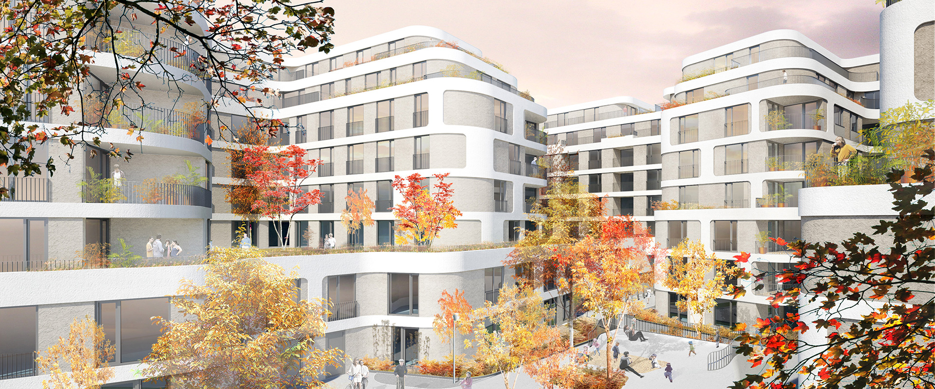 Building project Wohnquartier Pappelallee 45