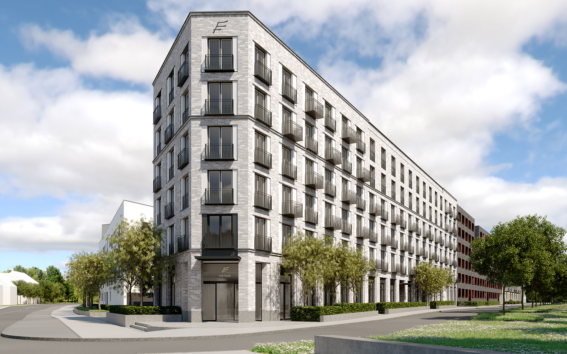 The trustful cooperation with Rathgeber AG in the Meiller Gärten development area in Munich-Moosach enters its 3rd round. After the work on construction sites 06 and 07, S. Pöttinger Bauunternehmung was commissioned with the general contractor work for th