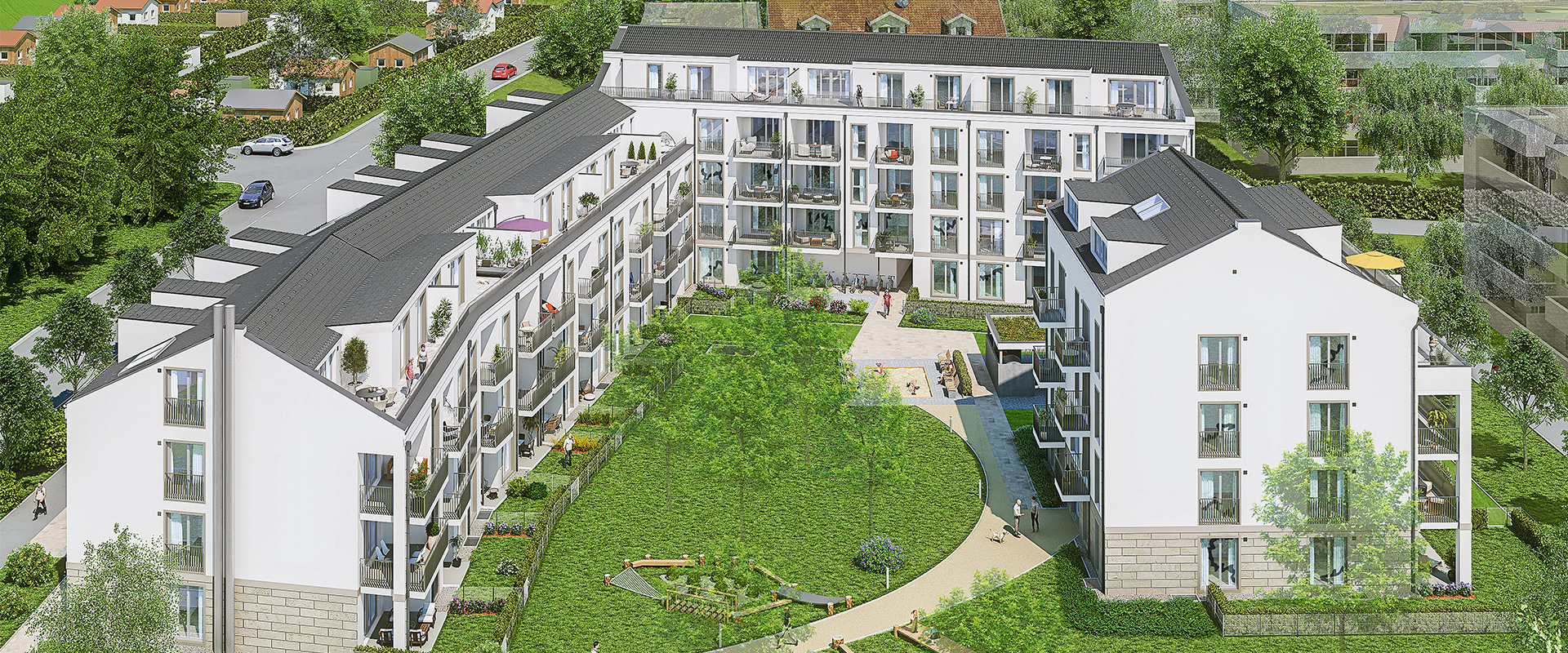 Freehold flats in Munich-Berg am Laim