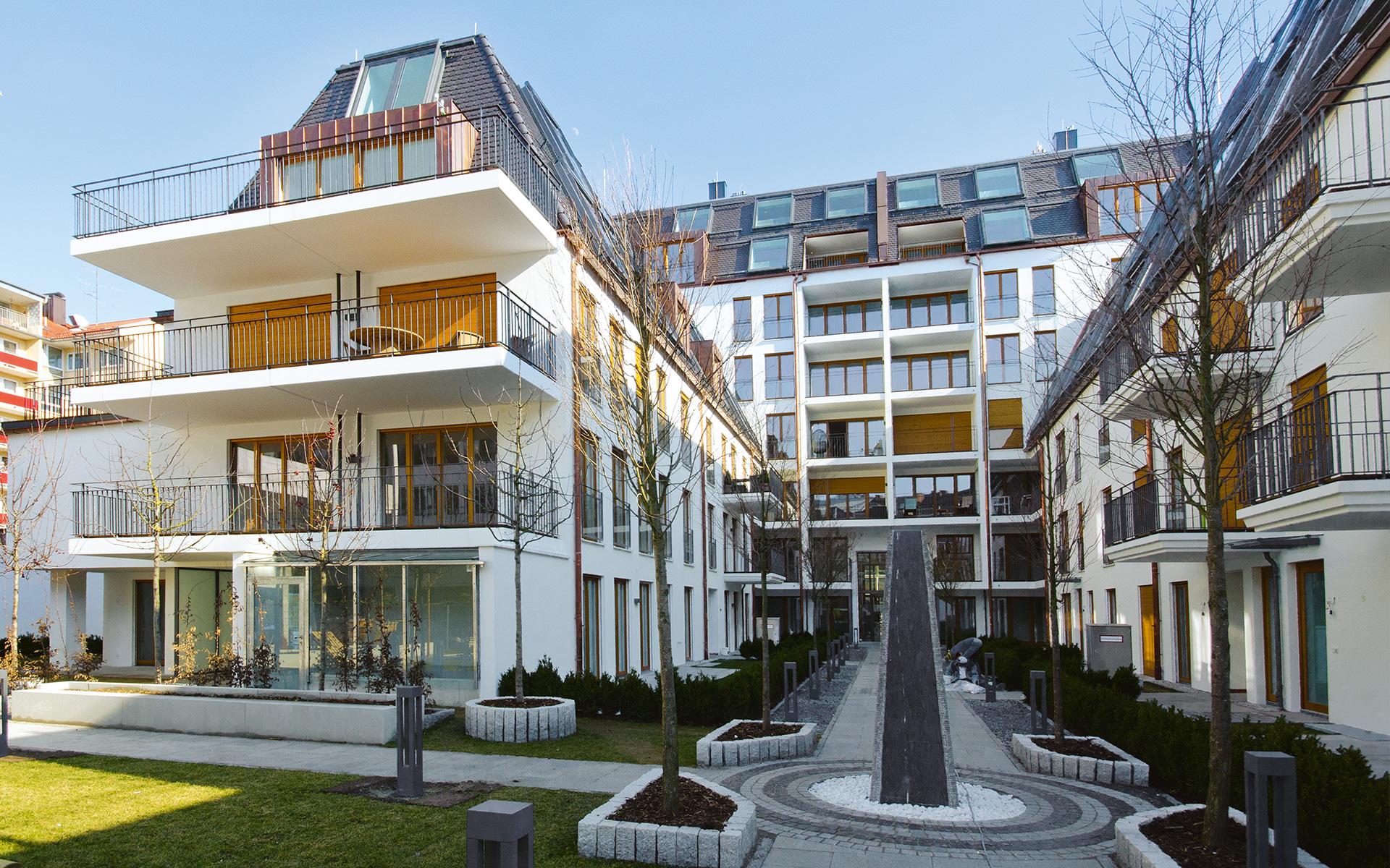 Augustenhöfe Wohnanlage In München Maxvorstadt Pöttinger Immobilien