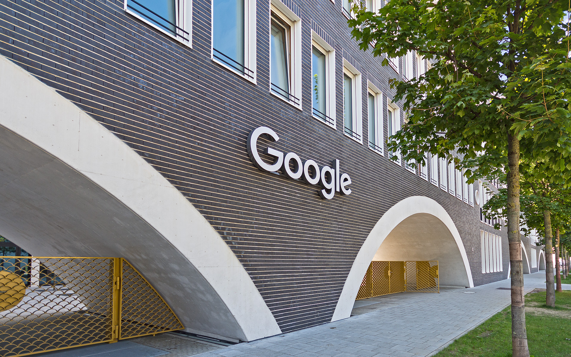 Kontorhaus Munich: a new office building housing the Google development center was built as part of the urban construction project of Arnulfpark.