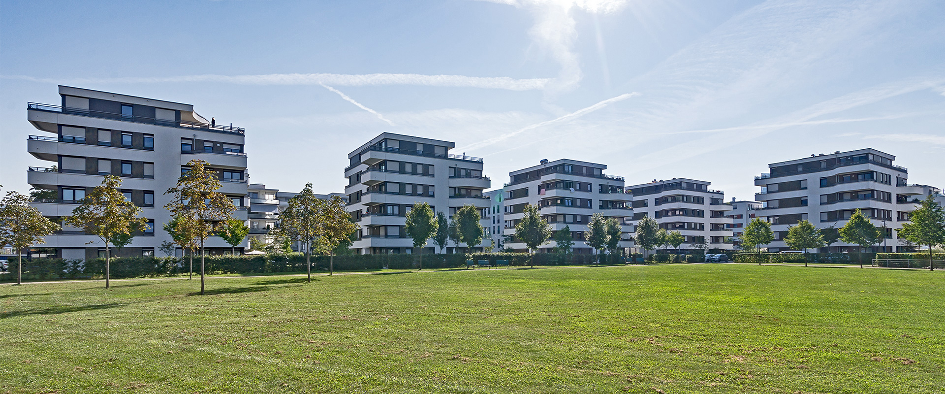 Parkside Leopold. Condominium in Munich Schwabing