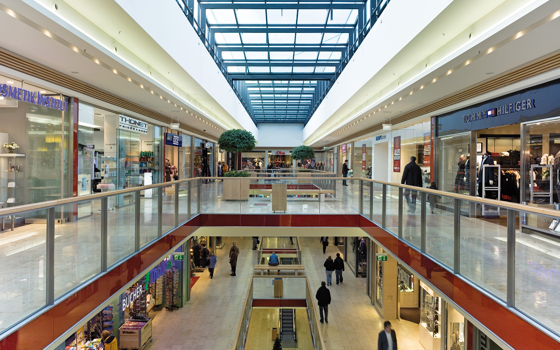 Trier Galerie. Shopping Mall in Trier