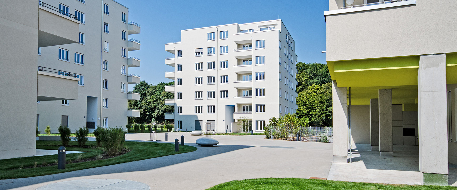 Am Westpark. Condominium in Munich Sendling